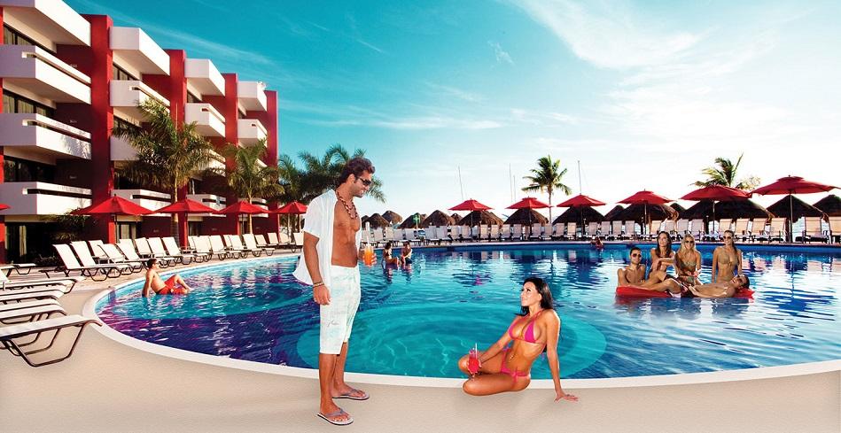 отель для пар мексика, temptation отель